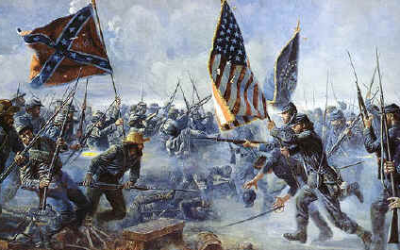 Lecture de vie dans les années 1860 aux Etats Unis